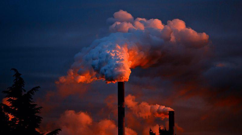 Luchtvervuiling door kolenindustrie